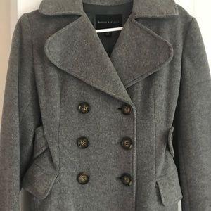 Banana republic wool pea coat